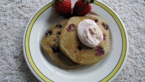 Berry Whole Wheat Pancakes